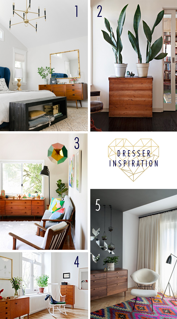 Dresser Inspiration - Be a Heart
